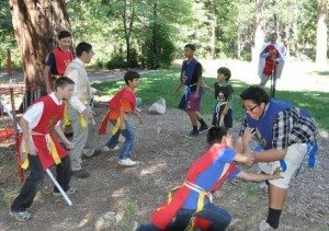 2012_TFP_Summer_Camp_CA_Game-300x211 Young Californians Answer Call to Chivalry