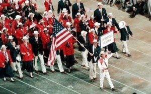 US Olympic Team 2000 Sydney Australia