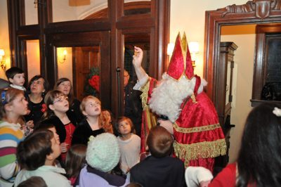 TFP Open House 2012 - Saint Nicholas came to visit bearing gifts