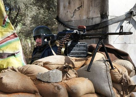 Arab Spring Islamist Expansionism: Military Checkpoint near Damascus