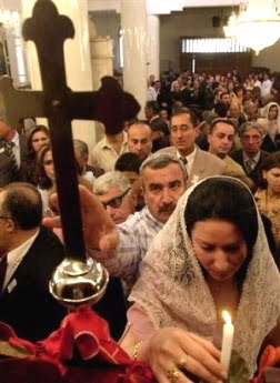 In Syria, the current government makes no distinction between Muslims and Christians, both equally considered as citizens.
