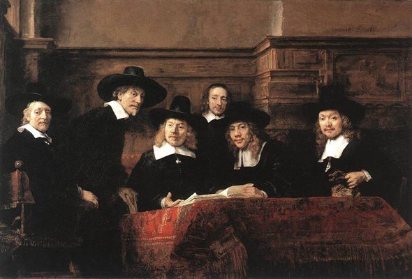 "Rembrandt: ""The Syndics of the Cloth Merchants' Guild"""