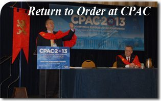 Return to Order at CPAC