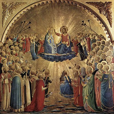 The Coronation of Our Lady, Queen of Heaven and Earth - Our Lord exhorted us to live for the Kingdom of Heaven