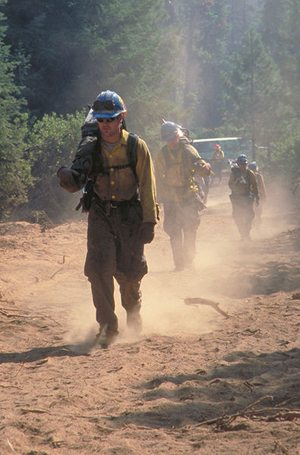2013_Hiking_hotshots We Send Men to Fight Our Wild Fires