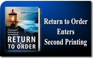 Return to Order Enters Second Printing