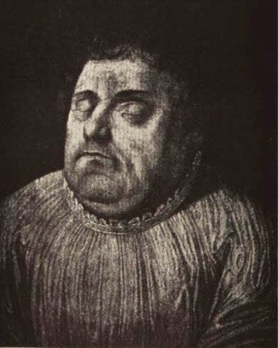 Luther's Face in Death