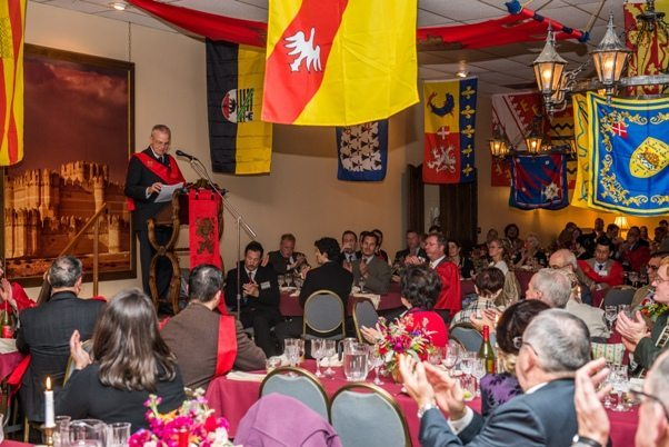 TFP 2015 National Conference Medieval Banquet Prince Bertrand of Orleans-Braganza
