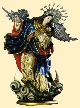 Our Lady of the Apocolypse, do everything with Mary, attribute everything to Mary, she will get us there