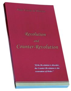 TFP Books: Revolution and Counter-Revolution, by Plinio Corrêa de Oliveira, Third English Edition, 1993