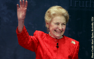 TFP Mourns Phyllis Schlafly