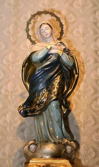 Our Lady of the Immaculate Conception venerated at the TFP center