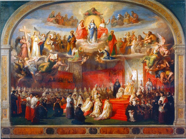 Proclamation_of_the_Dogma_of_the_Immaculate_Conception_Pope_Pius_IX_789px The Immaculate Conception: The Celebration of Privilege