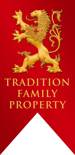 Traditional Family Property Lion Banner