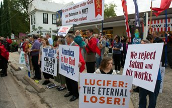 Protests Against Luciferians Really Work
