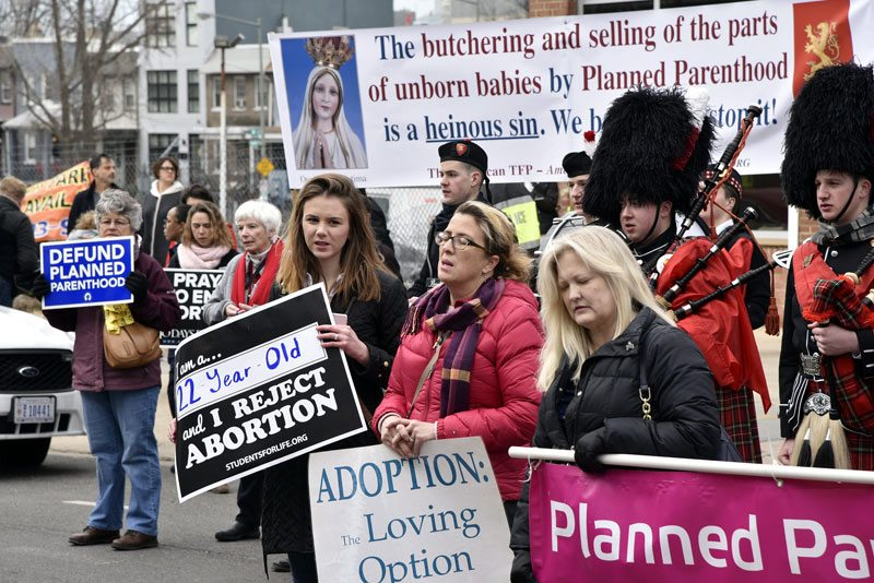 When Radical Leftists Tried to Block a Pro-Life March