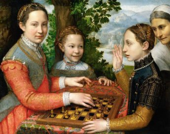 The_Chess_Game_Sofonisba_Anguissola-345x273 Why Can't Americans Enjoy Life?