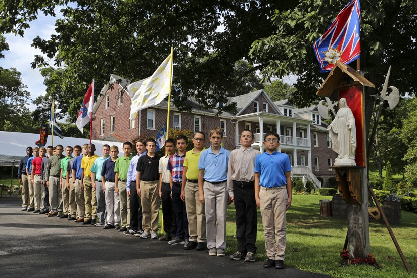 Catholic Boys Prove How Chivalry Is Not Dead - 2017 TFP Call to Chivalry Summer Camp, Pennsylvania
