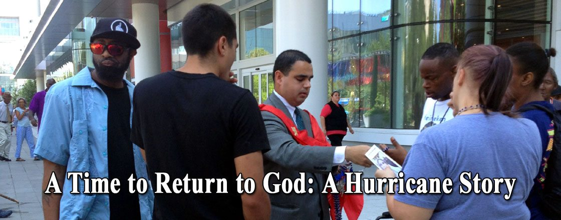 A Time to Return to God: A Hurricane Story