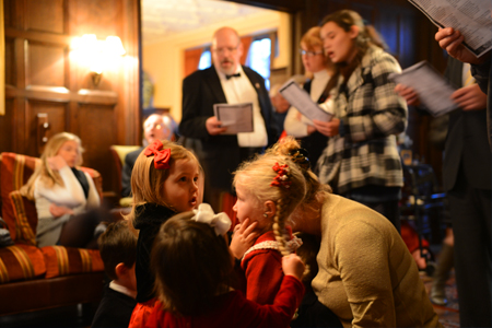 25th Annual Christmas Open House Competes With the White House