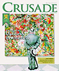 Crusade Magazine cover for May/June, 2001