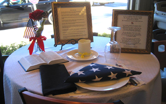 Honoring the Fallen With a Place at the Table & Honoring the Fallen With a Place at the Table - The American TFP