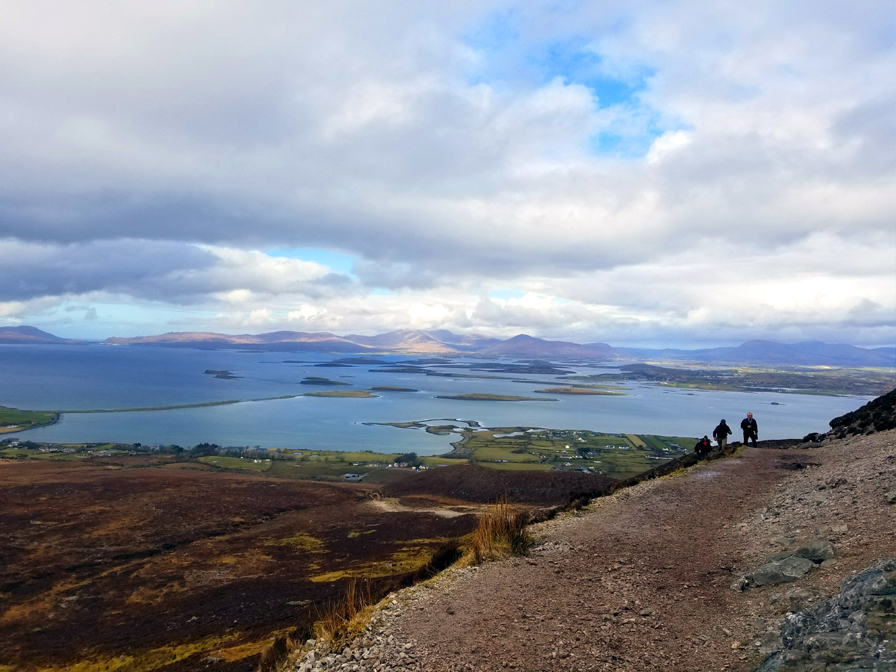 Piping for Life Atop Croagh Patrick