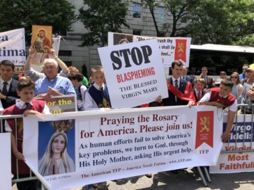 Protest at the Met: It Feels Good to Be Catholic Again!