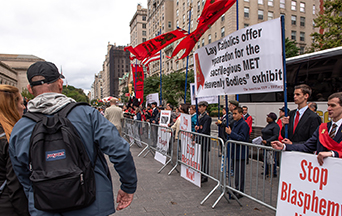 Braving the Public Square Rosary Rally of Hostility in New York City