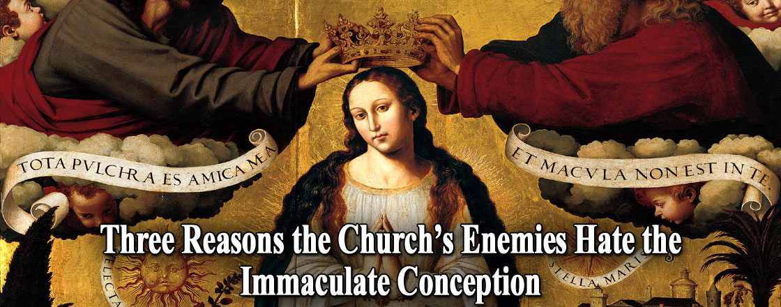 Three Reasons the Church's Enemies Hate the Immaculate Conception