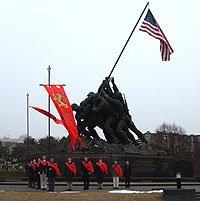 TFP Members at Iwo Jima Monument in Washington, D.C.