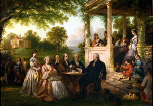 Throughout our history, dynamic American families, like the George Washington family, brought America together