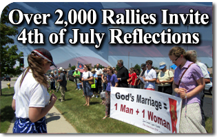 Over Two Thousand Rallies Invite Fourth of July Reflections About the Nation We Have Become