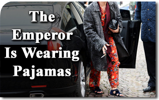 The Emperor Is Wearing Pajamas: The Decline of Dress