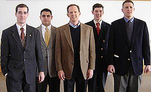 Members of TFP Student Action had the oppurtunity to meet former U.S. Congressman Pat Toomey