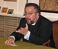 Fr. John Trigilio speaks at TFP conference