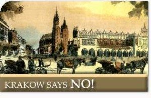 Krakow Says NO!