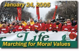 Marching for Moral Values