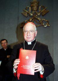 Cardinal Medina Praises Defending a Higher Law