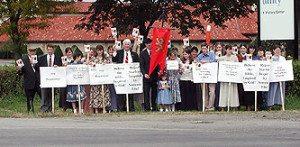 Margaret Starbird Protest