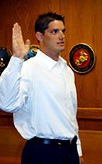 Heroism - Jeremy Staat is sworn in