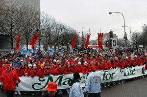 March for Life: Braving the Storm, Come What May