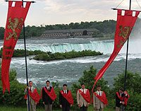 "After hitting Rochester, New York, the TFP ""caravan"" took advantage to visit Niagra Falls."