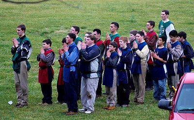 The program ended with the customary medieval games in which participants played hard, while mainainting a chivalrous demeanor.
