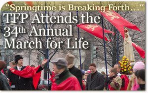 TFP Attends the Thirty-fourth Annual March for Life
