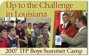 Up to the Challenge in Louisiana