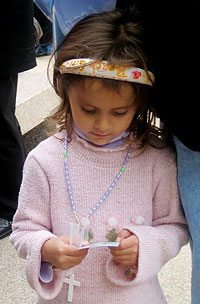 The rallies were an occasion of grace for participants of all ages.