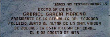 Garcia Moreno: Heroic President of Ecuador