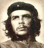 Che Guevara, an infamous Communist murderer and leader.
