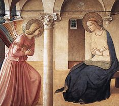 Fra Angelico: Annunciation